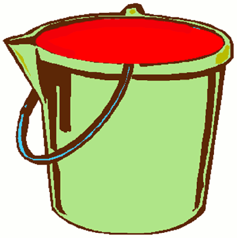 When you wake up in the morning, your bucket is filled with energy
